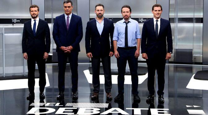 Debate elecciones 10N: Gana la ultraderecha, pierde la democracia