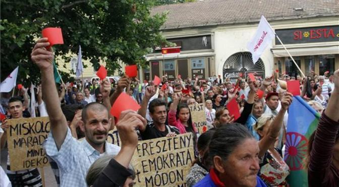Resistencia gitana en Hungría