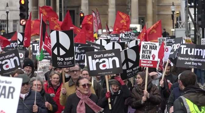 No a la guerra, sí a la lucha popular
