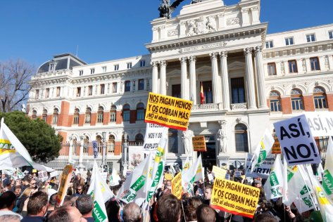 protestas campo madrid