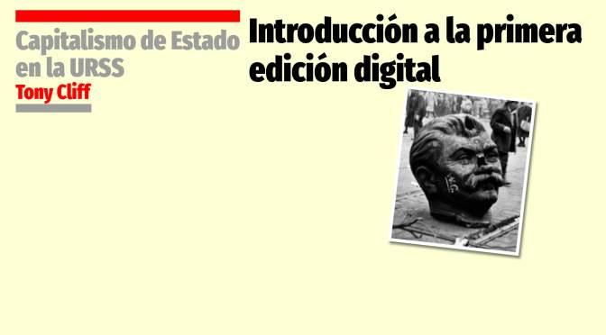 Introducción a la primera edición digital