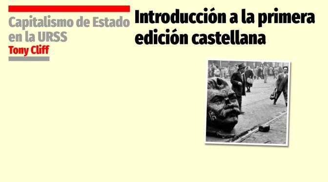 Introducción a la primera edición castellana
