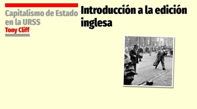 Introducción a la edición inglesa