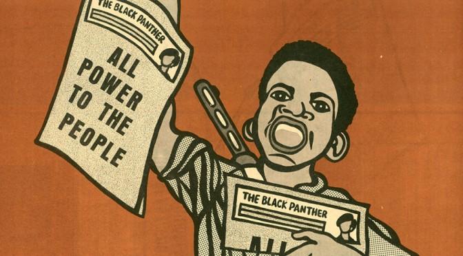 Emory Douglas habla de la prensa de Panteras Negras
