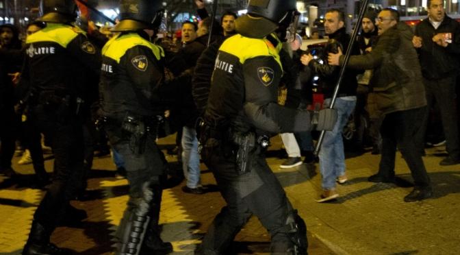 La policía holandesa no es mejor