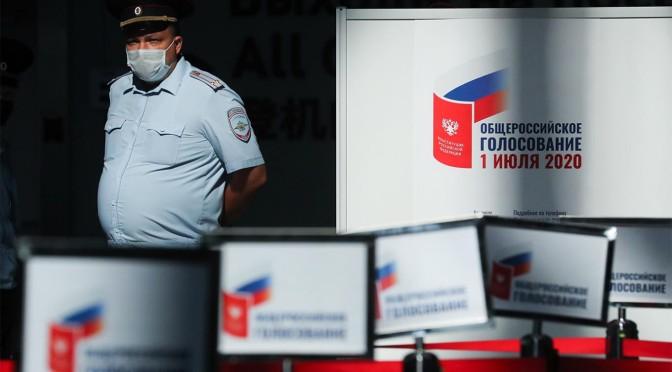 Referéndum de Putin: informe de los socialistas rusos