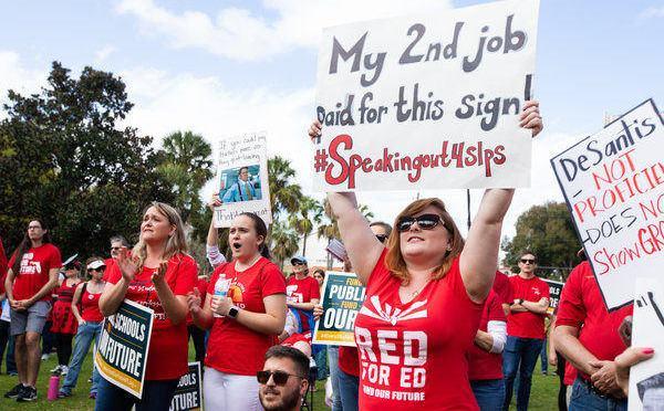 Los maestros de Florida resisten el regreso inseguro a las clases